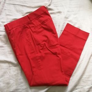 Red trousers BR